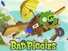 Bad Piggies онлайн 2017