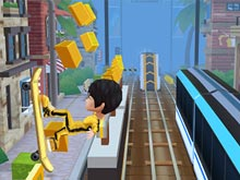 Subway Surfers на скейтборде